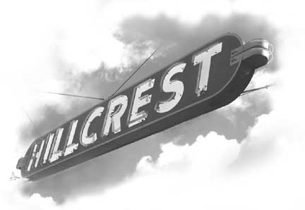 Hillcrest Sign San Diego